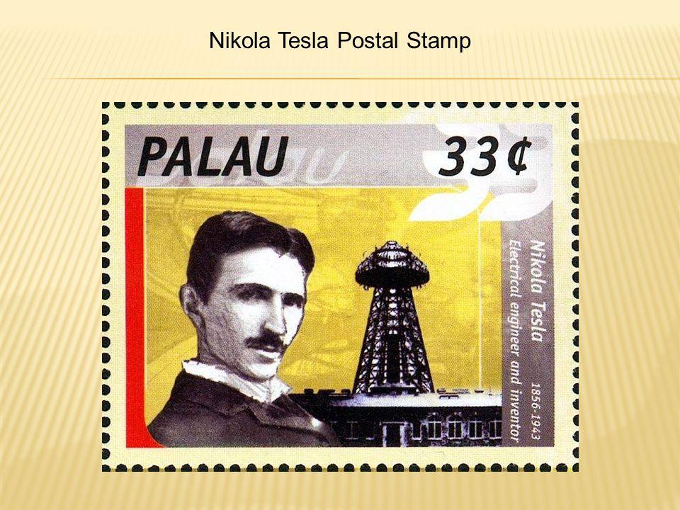 Nikola Tesla Postal Stamp