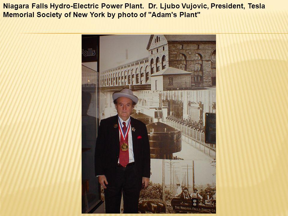 Niagara Falls Hydro-Electric Power Plant. Dr.