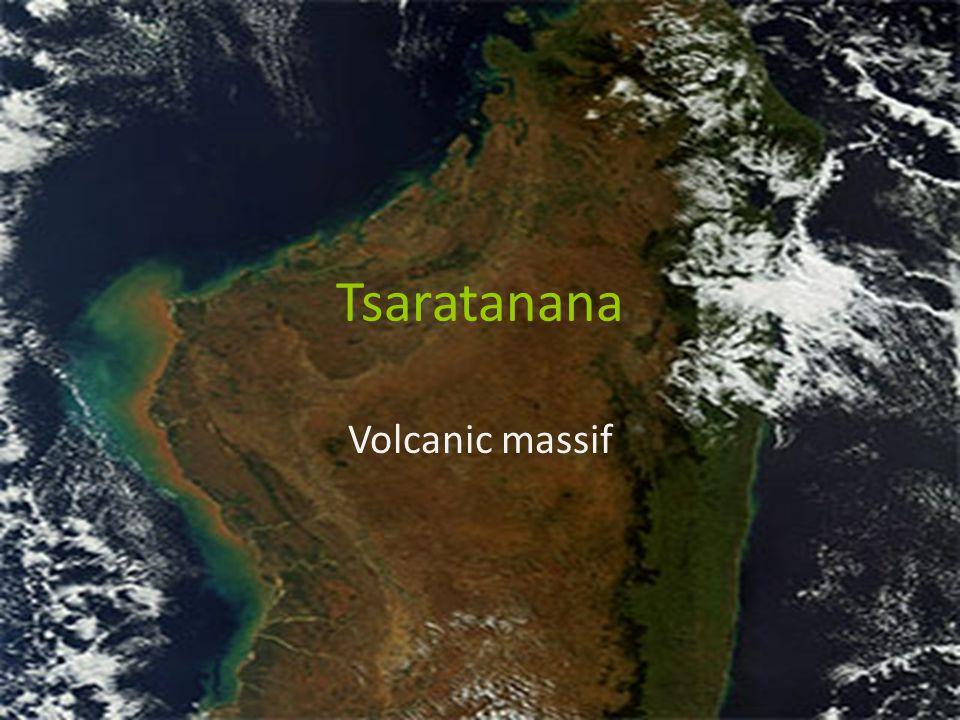 Tsaratanana Volcanic massif