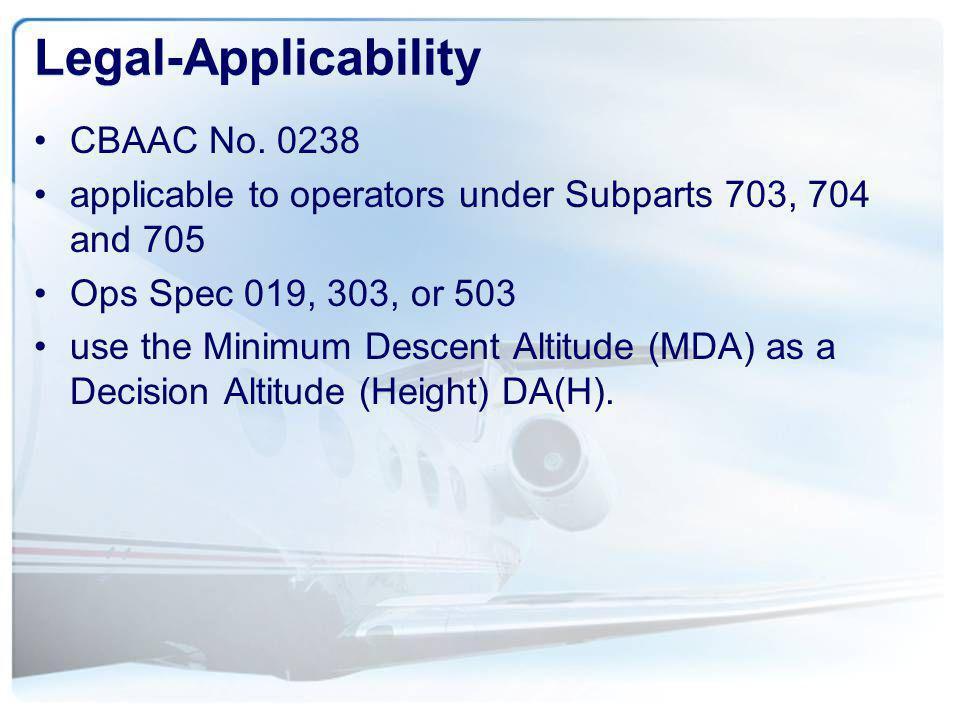 SCDA Training Program The operator should ensure that flight crews receive ground and simulator or flight training that addresses SCDA NPA procedure proficiency.