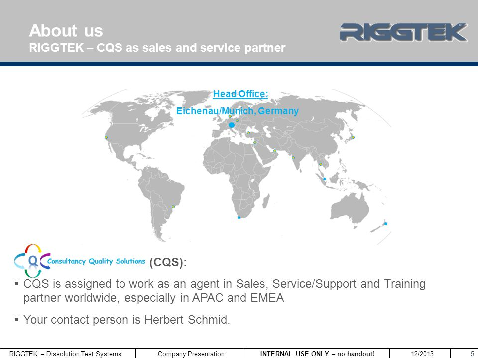 RIGGTEK – Dissolution Test Systems INTERNAL USE ONLY – no handout.
