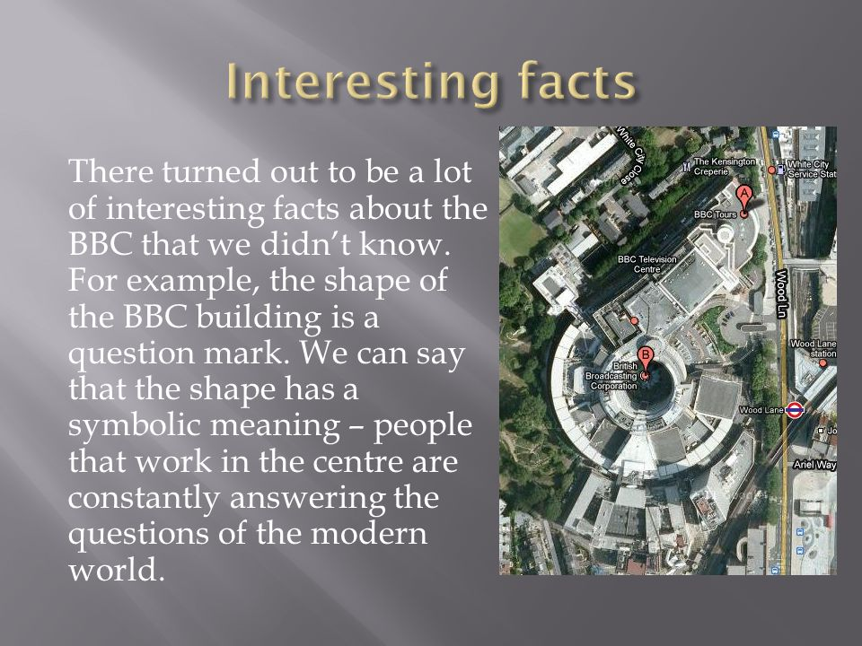  BBC Studio One is one of the largest studios in the world.