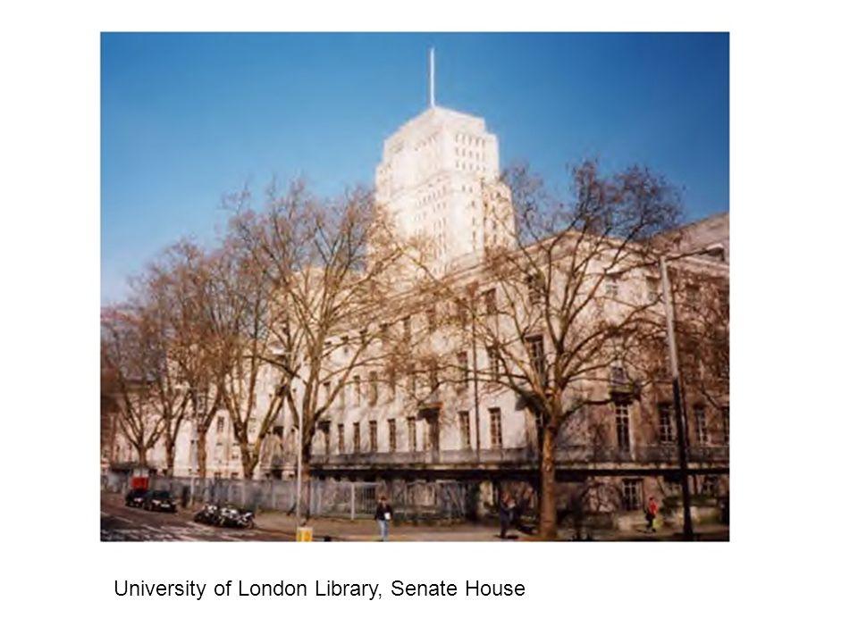 University of London Library, Senate House