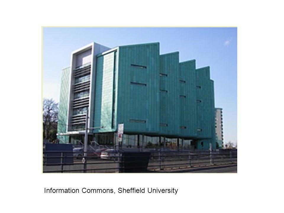 Information Commons, Sheffield University