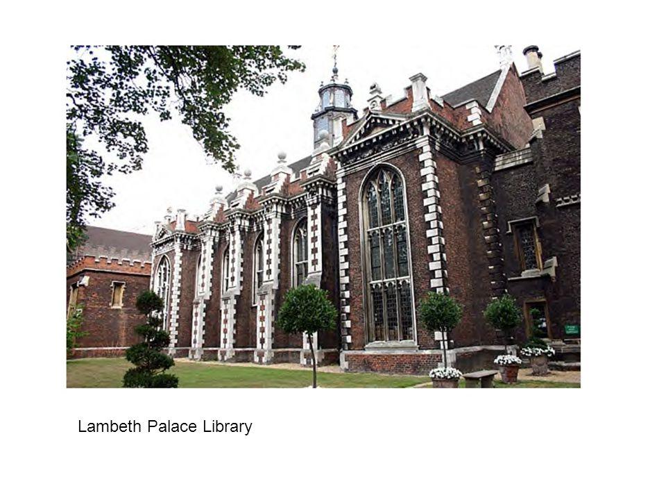 Lambeth Palace Library