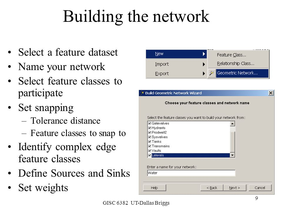 GISC 6382 UT-Dallas Briggs 10 Define Source and Sinks