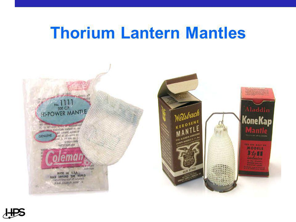 Thorium Lantern Mantles