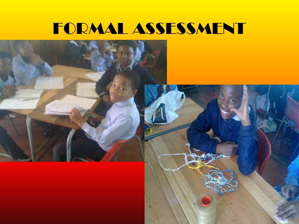 FORMAL ASSESSMENT 17