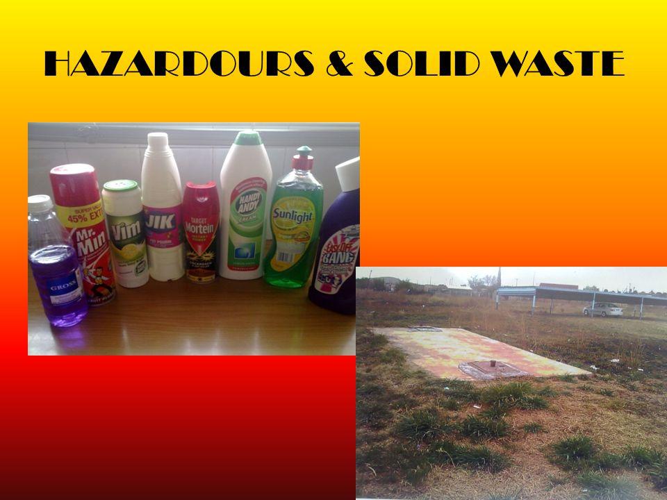 HAZARDOURS & SOLID WASTE 8