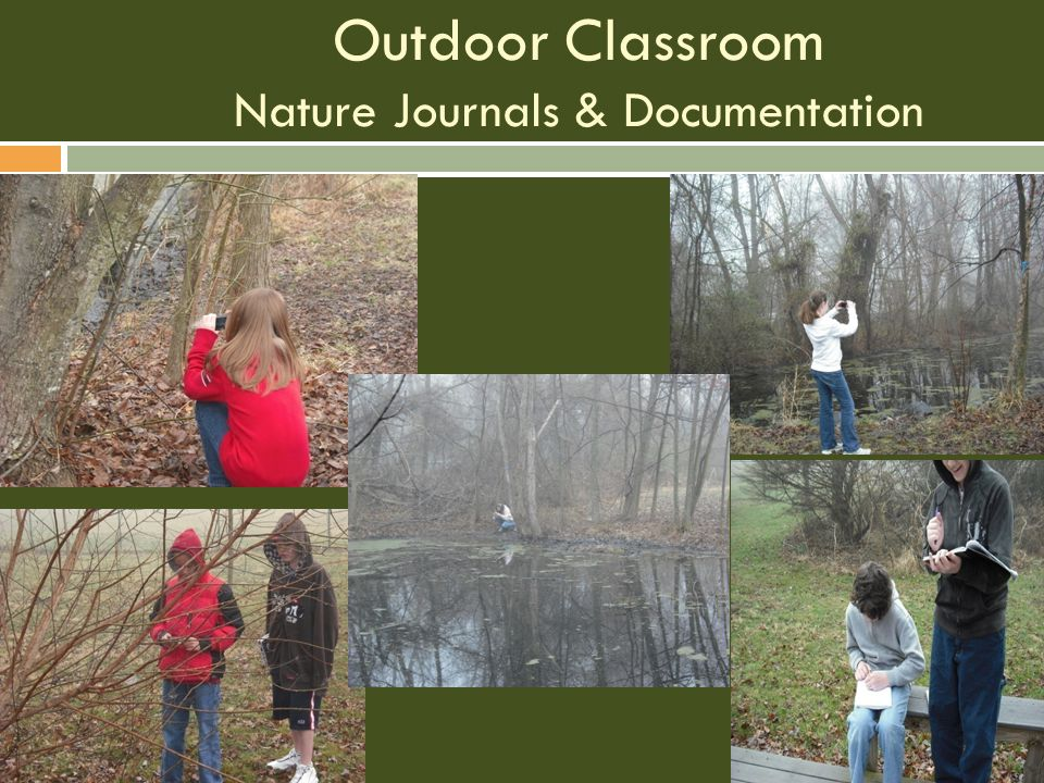 Outdoor Classroom Nature Journals & Documentation