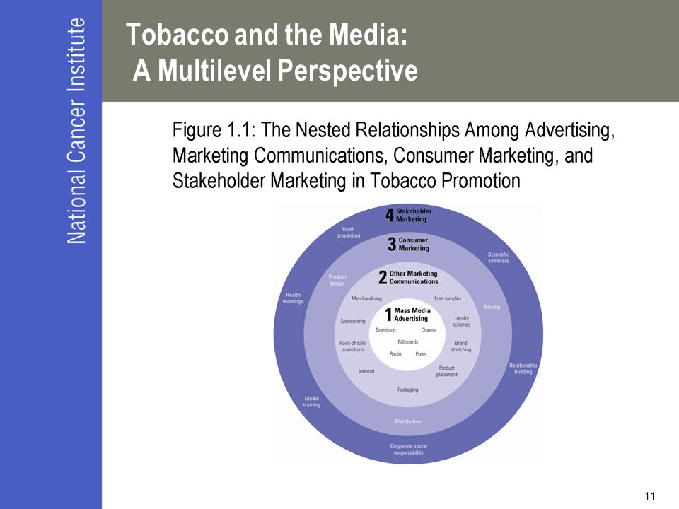 11 Tobacco and the Media: A Multilevel Perspective