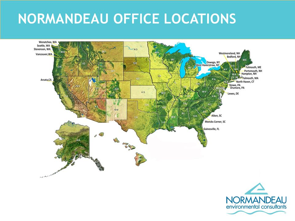 NORMANDEAU OFFICE LOCATIONS