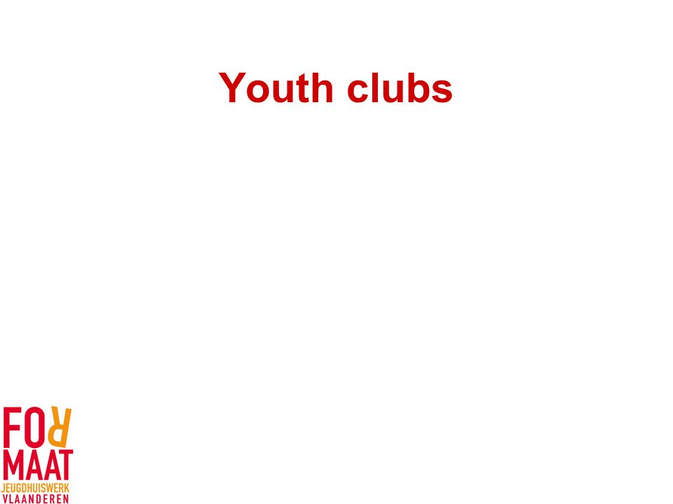 Youth clubs