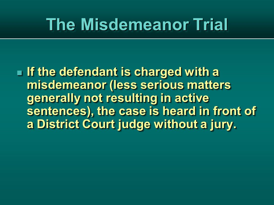 The defendant either pleads guilty or not guilty.The defendant either pleads guilty or not guilty.