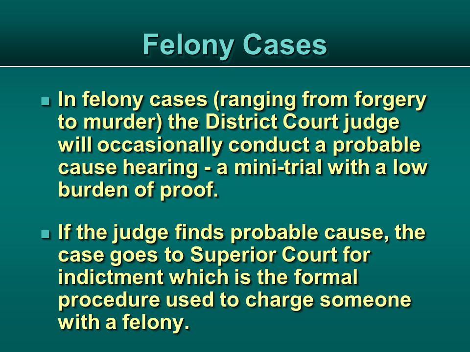 The Grand Jury Grand jury proceedings are held at regular intervals.