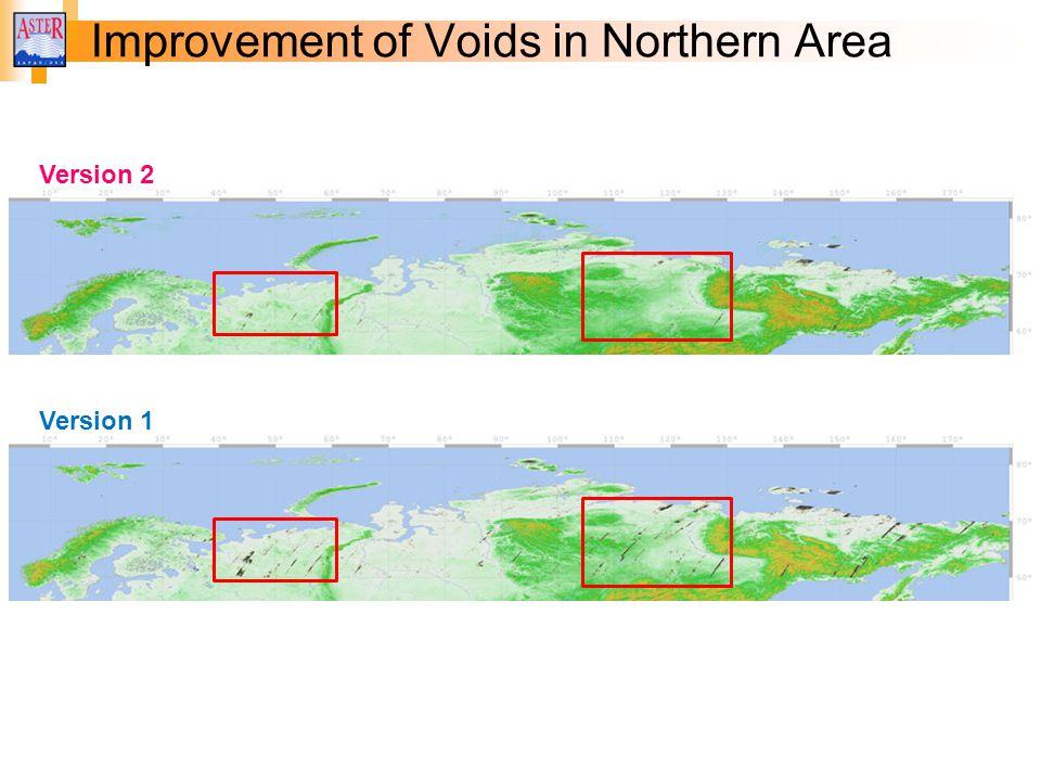 Improvement of Voids in Northern Area Version 2 Version 1