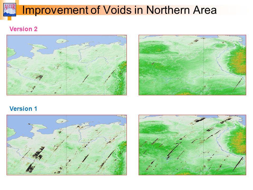 Version 2 Improvement of Voids in Northern Area Version 1