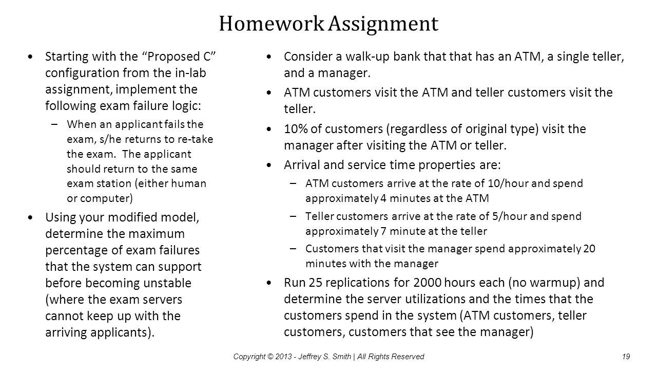 """Homework Assignment Starting with the """"Proposed C"""" configuration from the in-lab assignment, implement the following exam failure logic: –When an appl"""