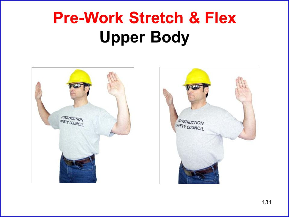 131 Pre-Work Stretch & Flex Upper Body