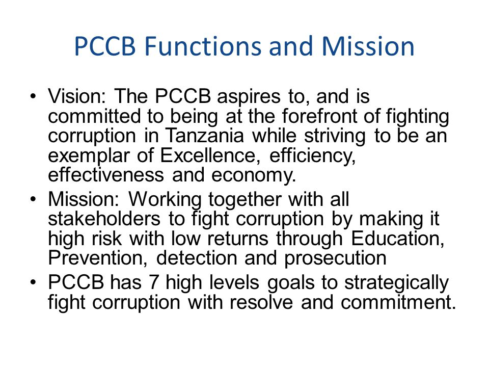 NACSAP II Achievements Goal 5: Mainstream and empower CSOs and Non State Actors into anti corruption processes.