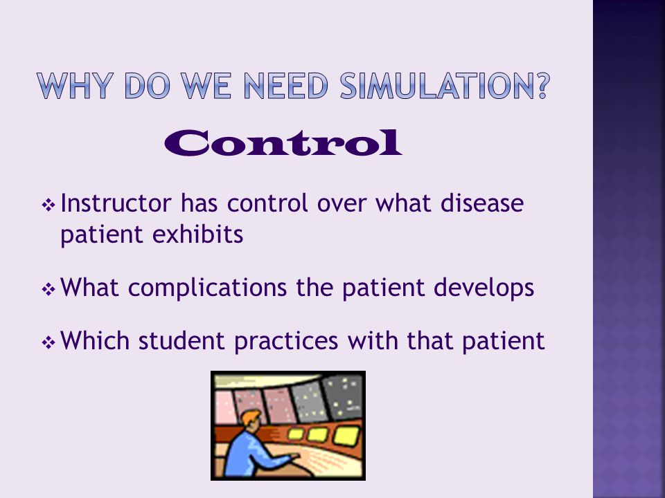  Individual courses  meet with the team  have them attend one of your simulations.