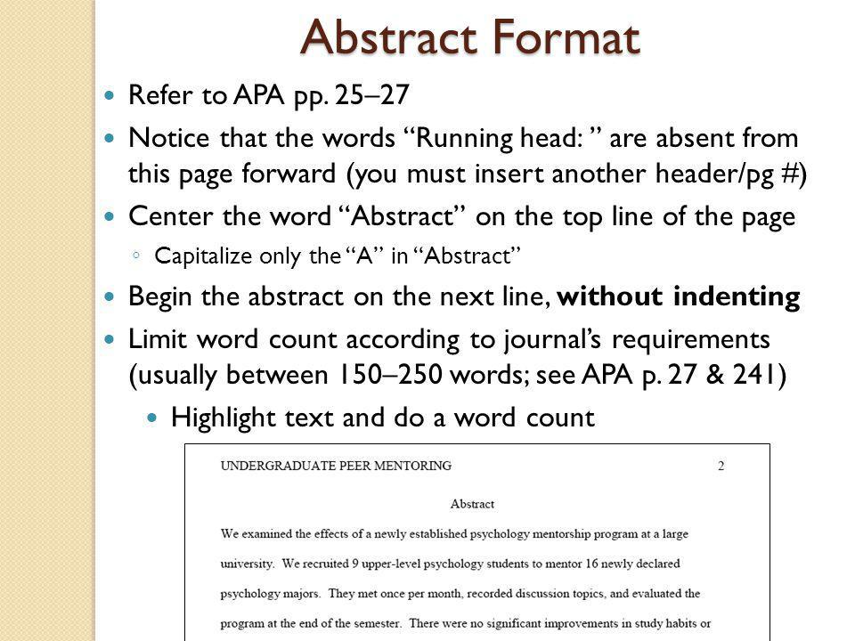 does the abstract count in the word count extended essay Sep30 comments off on is the abstract part of the extended essay word count is the abstract part of the extended essay word count posted by.