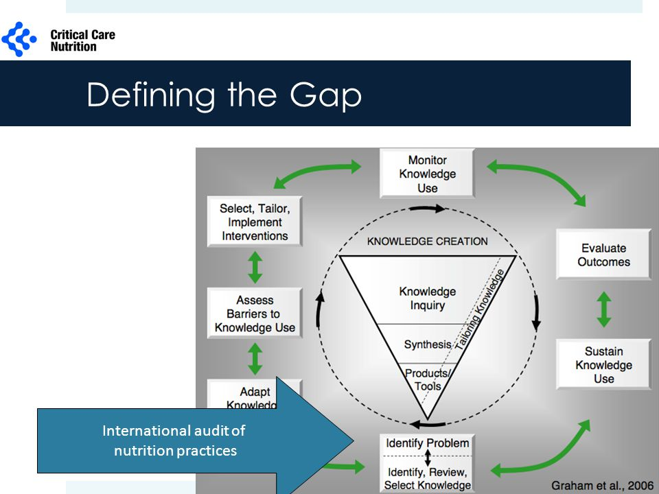 Graham et al 2006 Defining the Gap International audit of nutrition practices