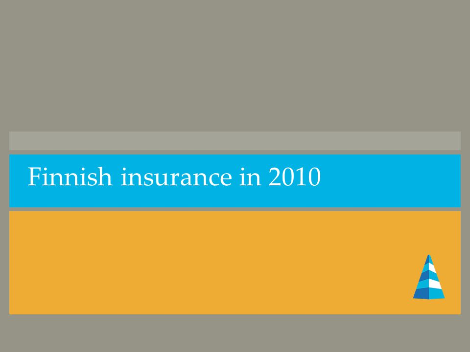 Finnish insurance in 2010