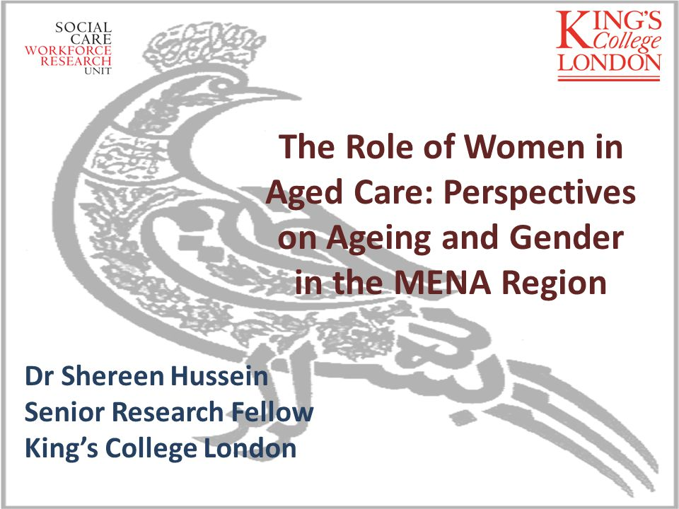 Presentation structure Overview of the MENA region: Similarities and differences Population Ageing as a policy issue in MENA Current aged care model in the region Competing demands and women role in aged care provisions – Demographic and population trends focus on nuptiality, co- residency and labour participation trends Viability of MENA current aged care model Call for integrated age and gender social policy development 03/12/2013Institute for Policy Research - Beyond International Security - Univeristy of Bath2