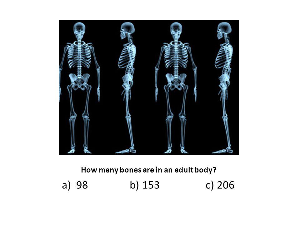 a) 98 b) 153 c) 206