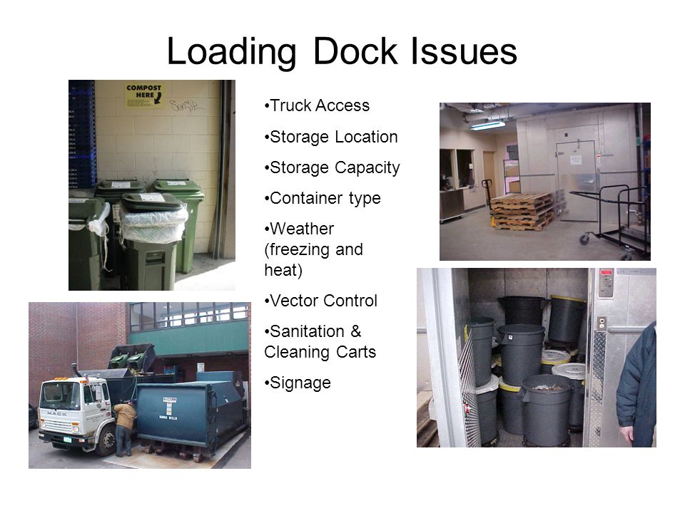 From Dorm Room to Dock Audit of residential area waste reveals that 15 - 20% is compostable food residuals.