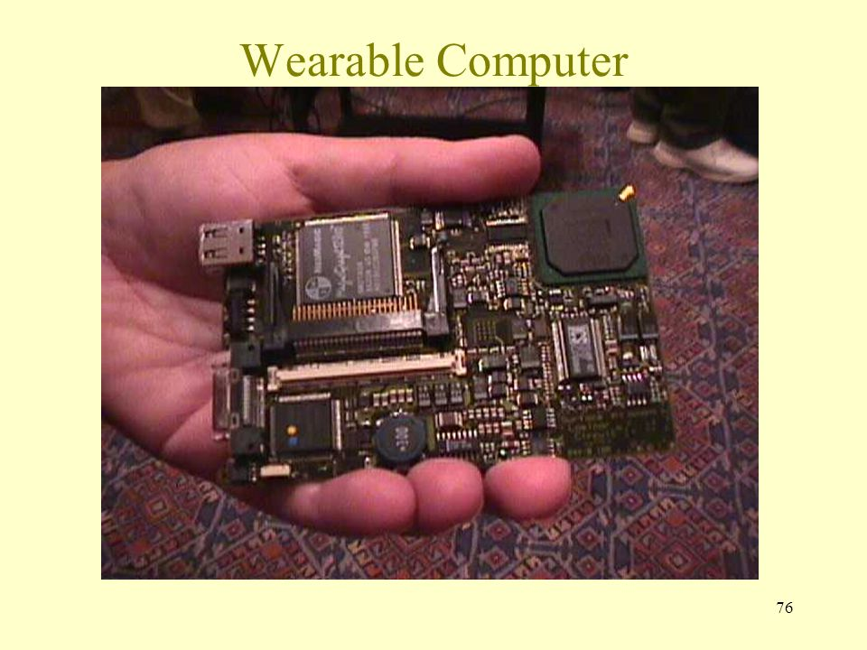 76 Wearable Computer