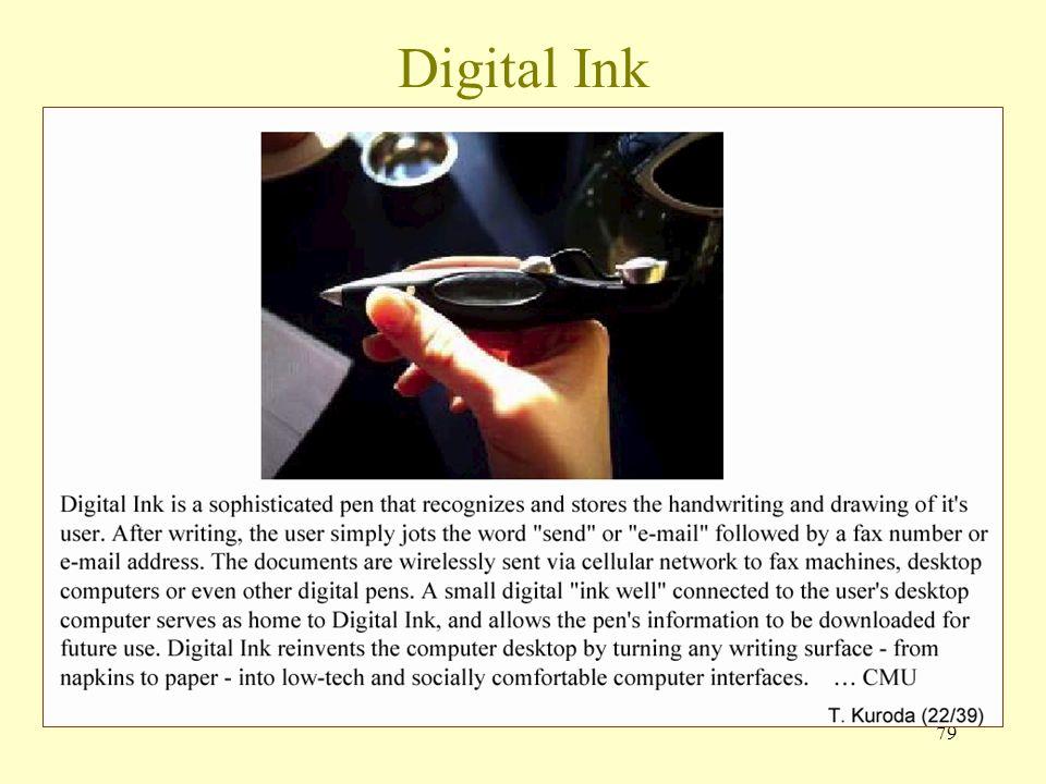 79 Digital Ink