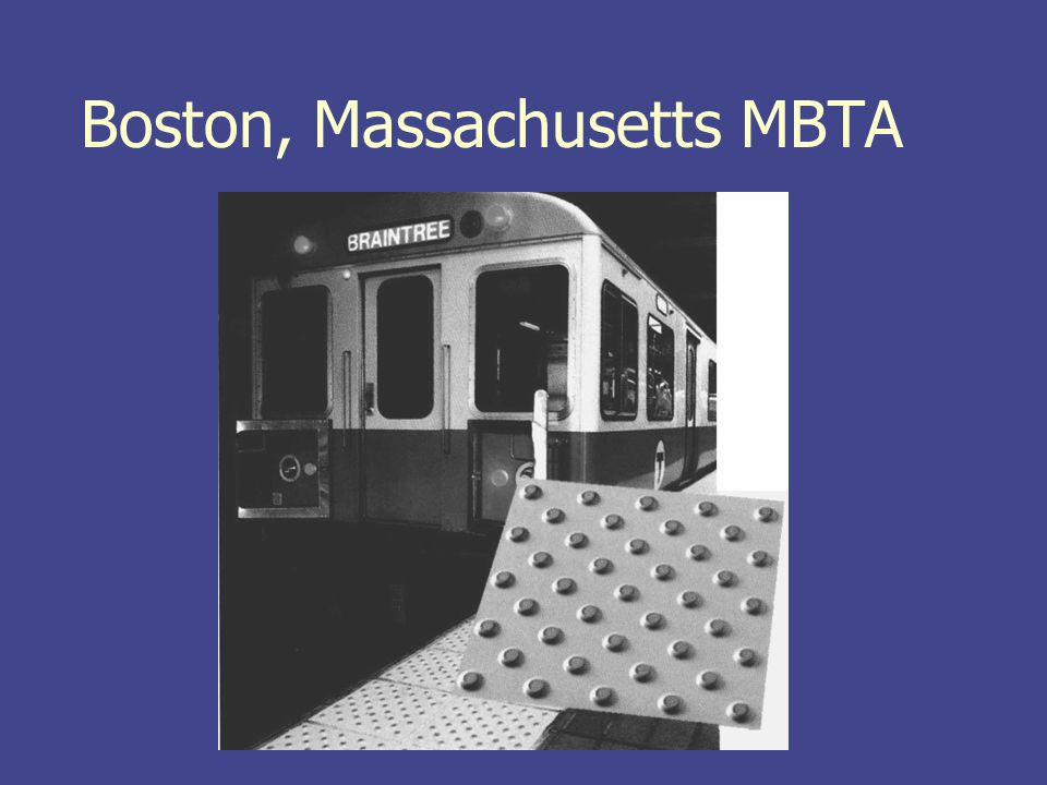 Boston, Massachusetts MBTA