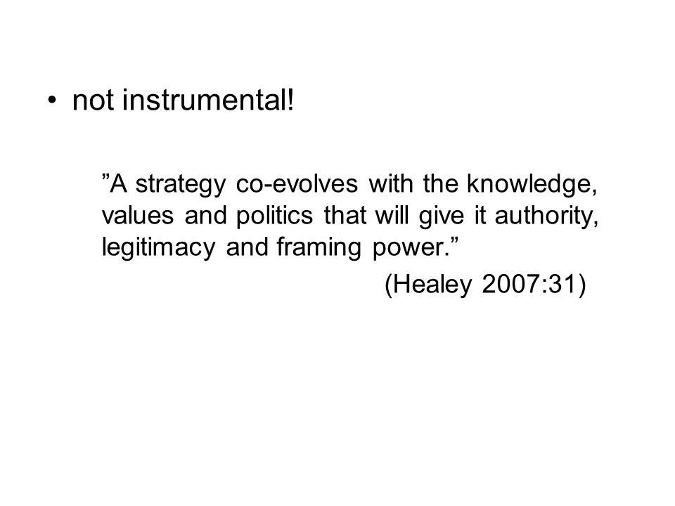 not instrumental.