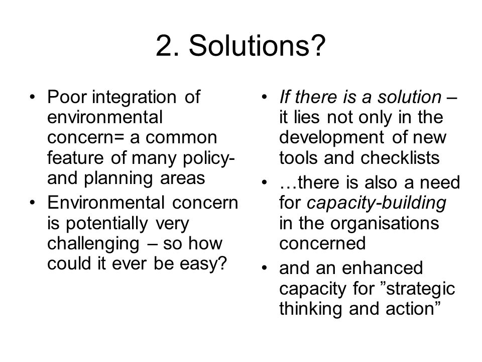 2. Solutions.