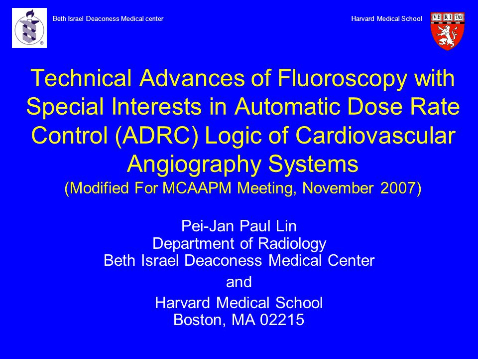 Technical Advances of Fluoroscopy with Special Interests in Automatic Dose Rate Control (ADRC) Logic of Cardiovascular Angiography Systems (Modified F