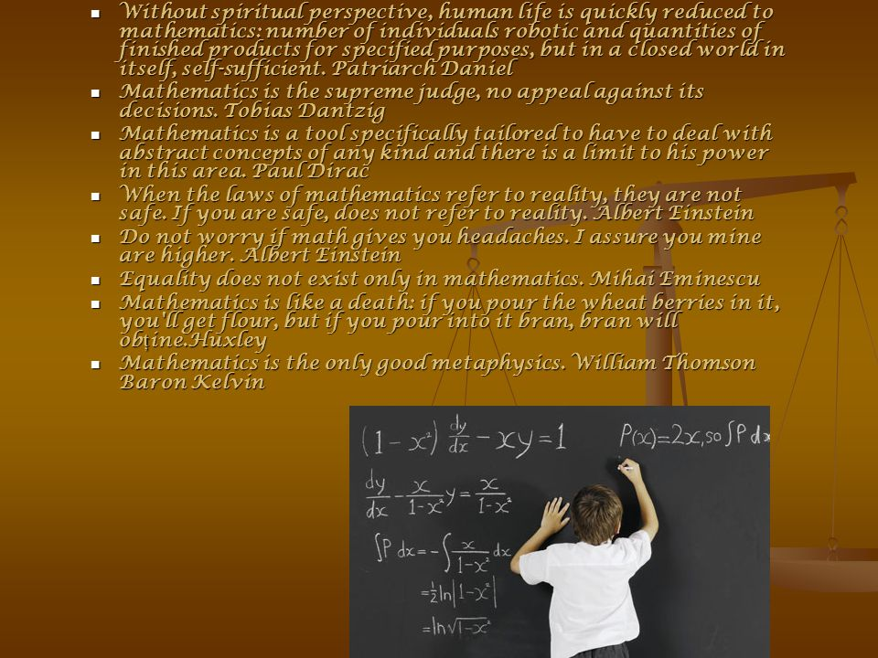 Mathematics is a realm that many walks, many of you know, many choice, one fact, why so.