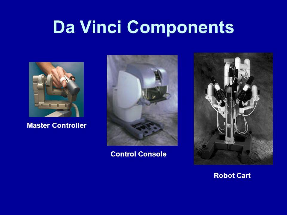 Da Vinci Components Master Controller Robot Cart Control Console