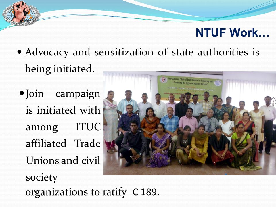 Advocacy and sensitization of state authorities is being initiated.