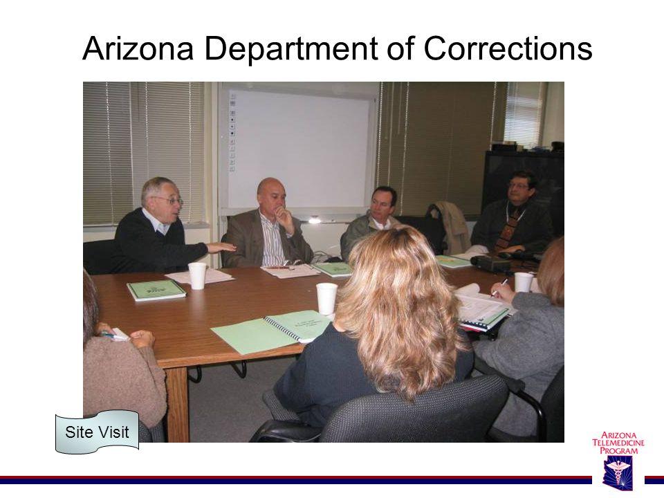 Arizona Department of Corrections Site Visit
