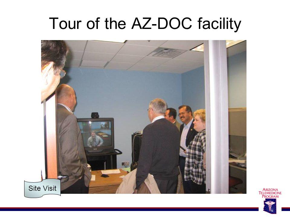 Tour of the AZ-DOC facility Site Visit