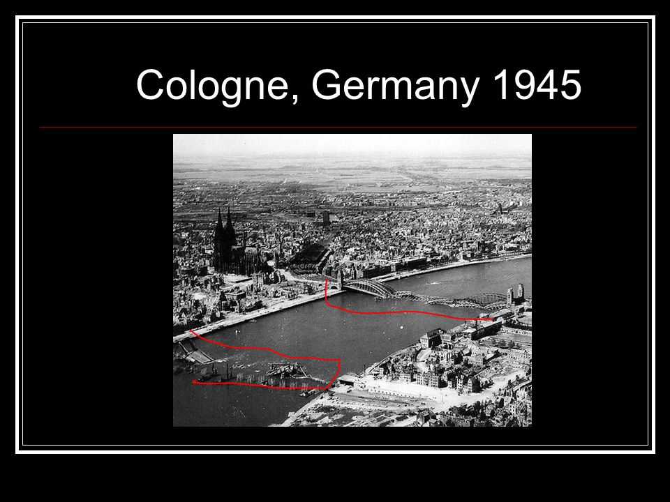 Cologne, Germany 1945