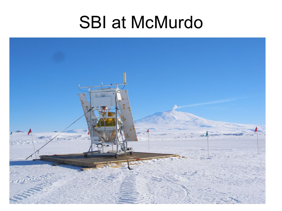 SBI at McMurdo