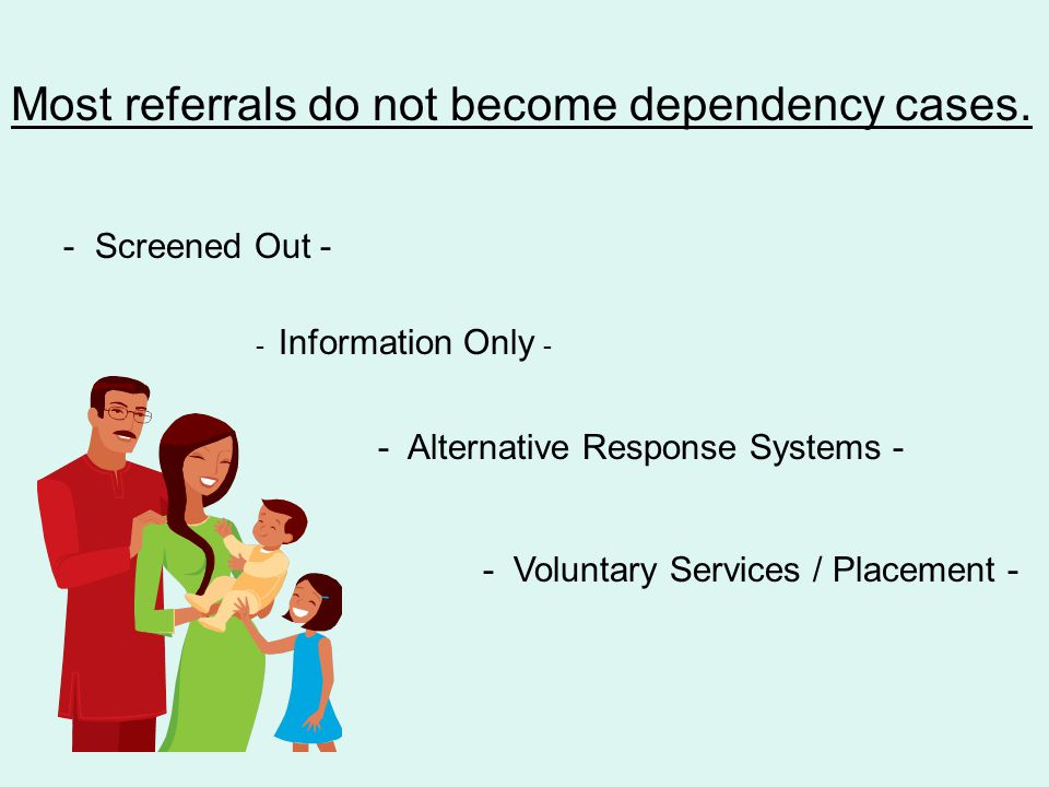 A dependency proceeding is a process which provides a procedural mechanism to balance the parent's fundamental constitutional rights with the state's interest in protecting children believed to be abused or neglected.