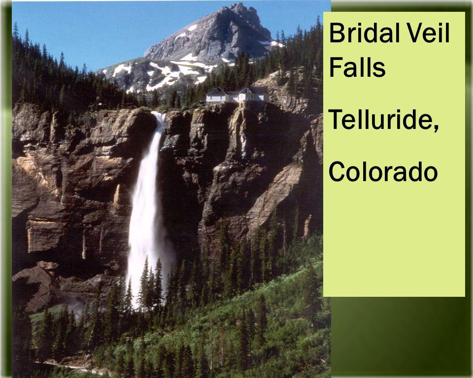 Bridal Veil Falls Telluride, Colorado