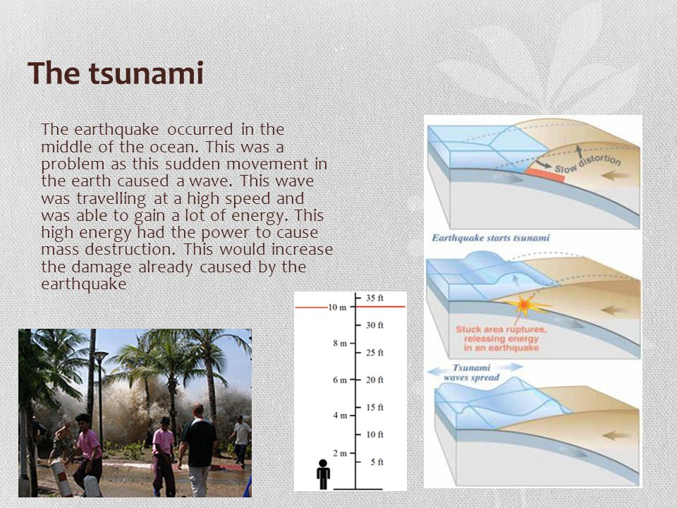Image showing spread of tsunami