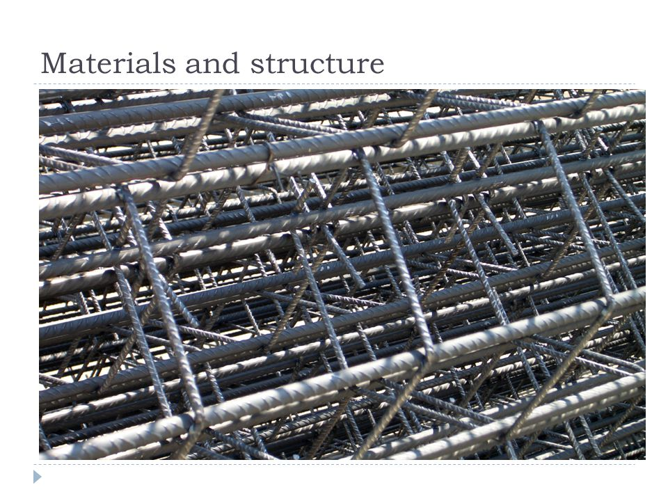 Materials and structure