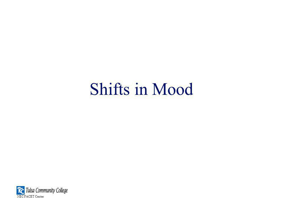 Shifts in Mood NEC FACET Center