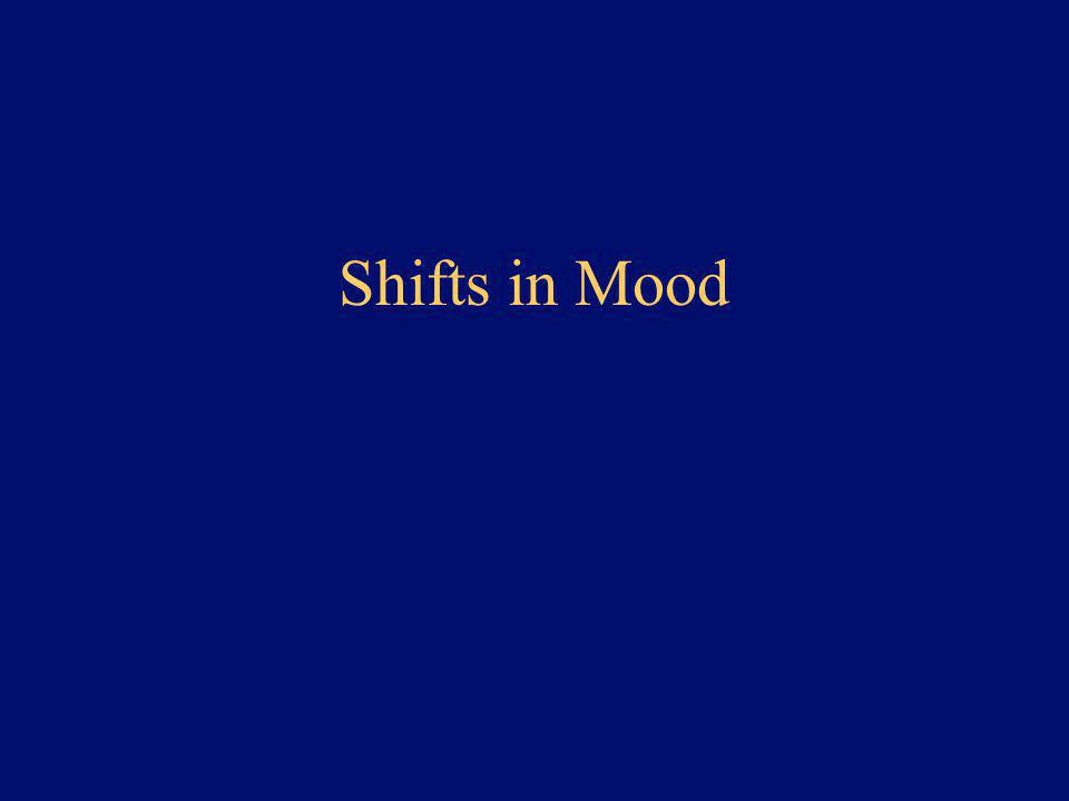 Shifts in Mood